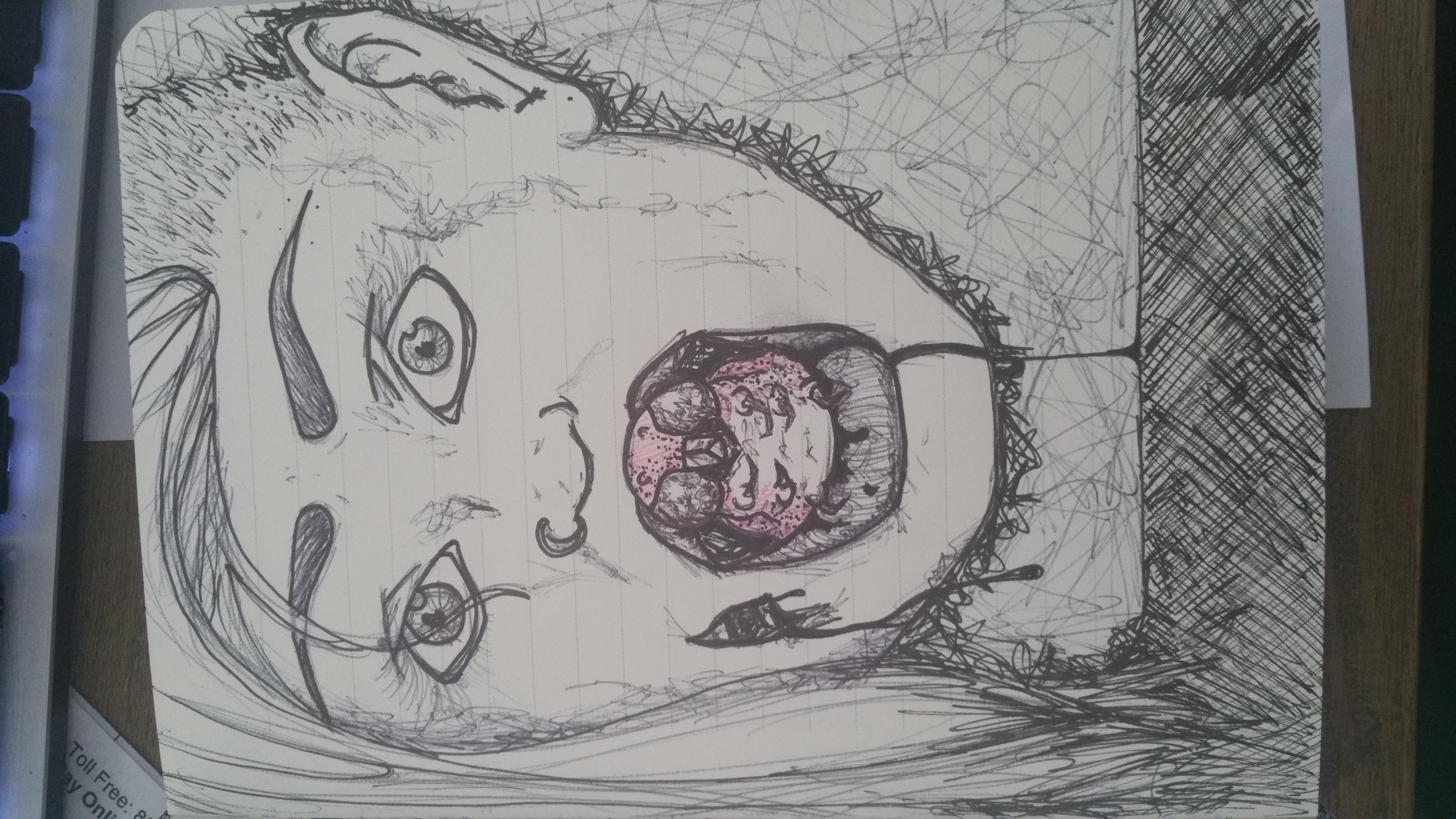 Patience 3: Self Portrait 1