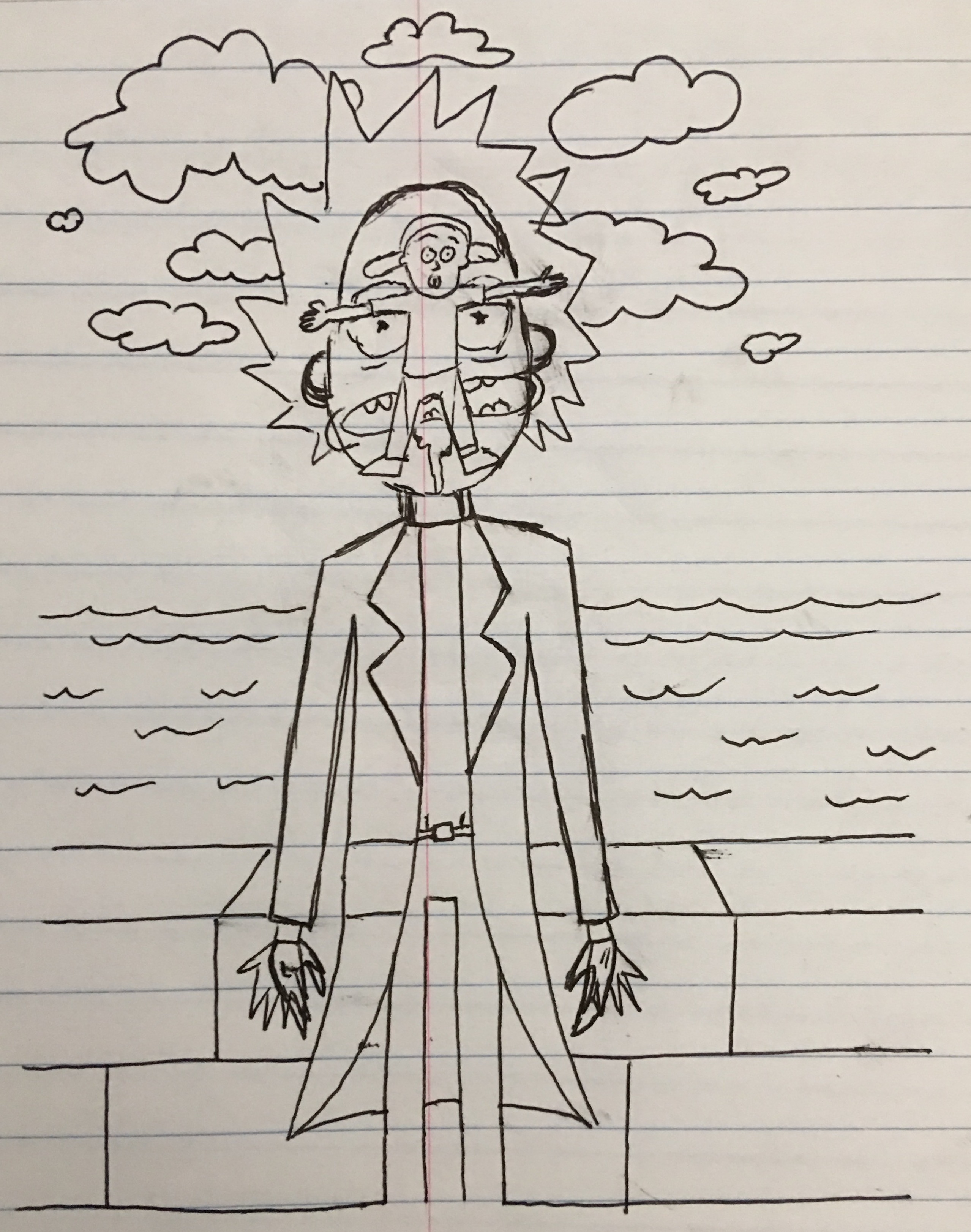 The Morty of Rick Sketch