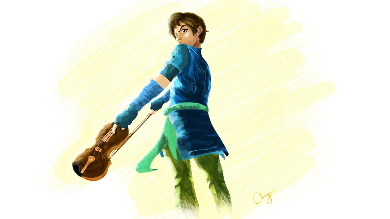 Violin Warrior