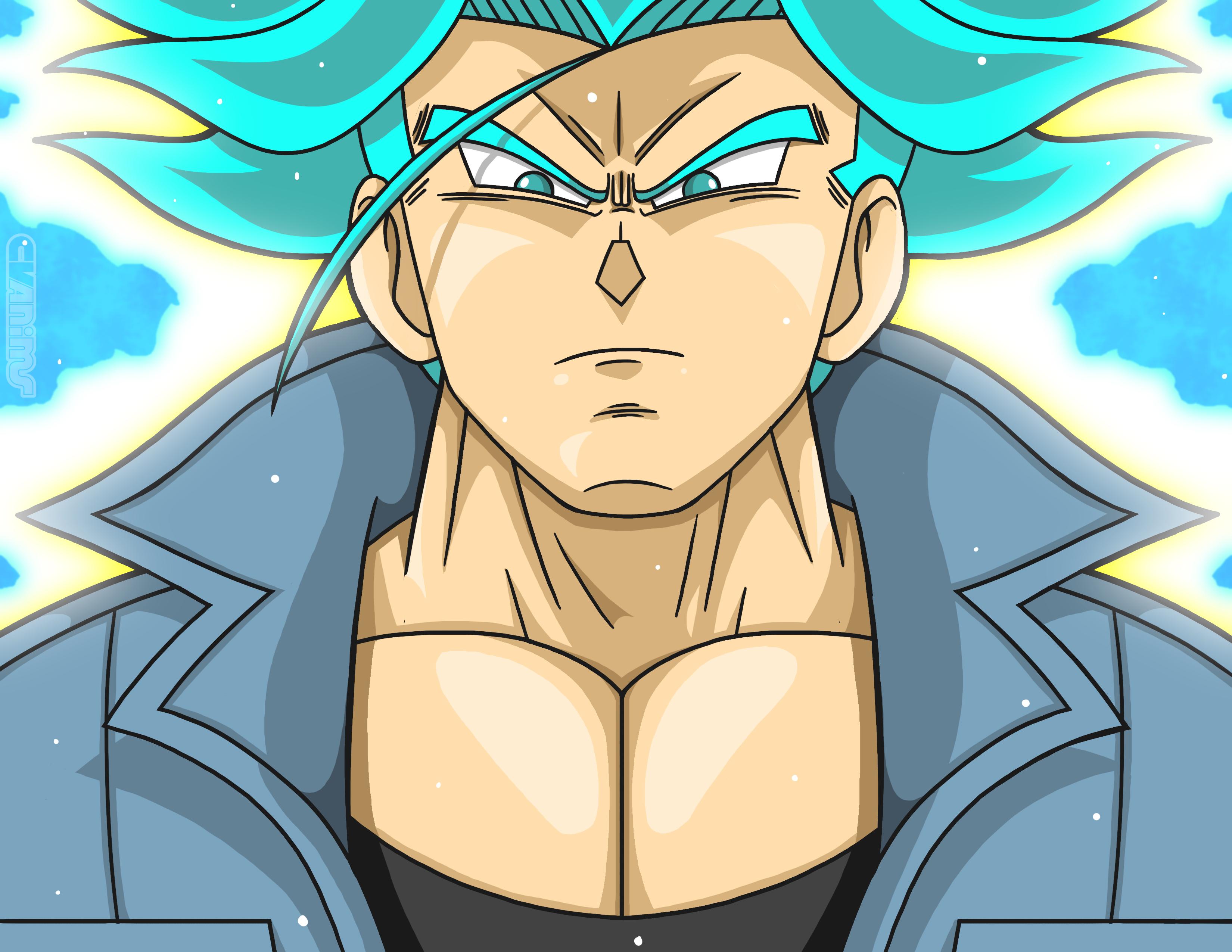 Super Saiyan Blue FUTURE TRUNKS?!?!