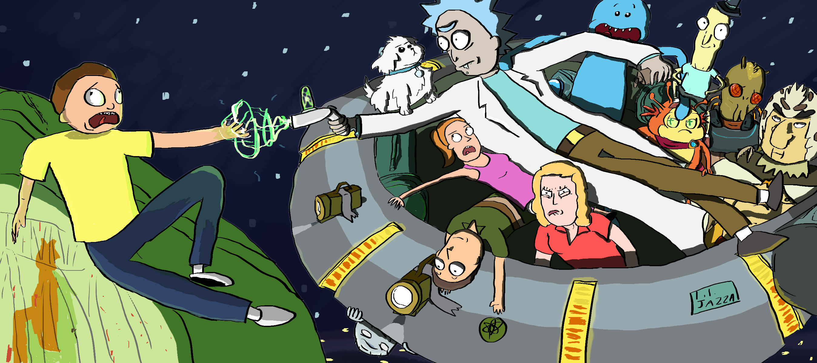 Creation of Morty