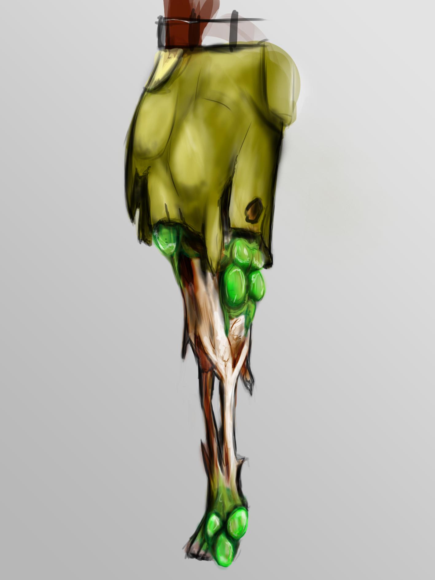 Generic Zombie Leg