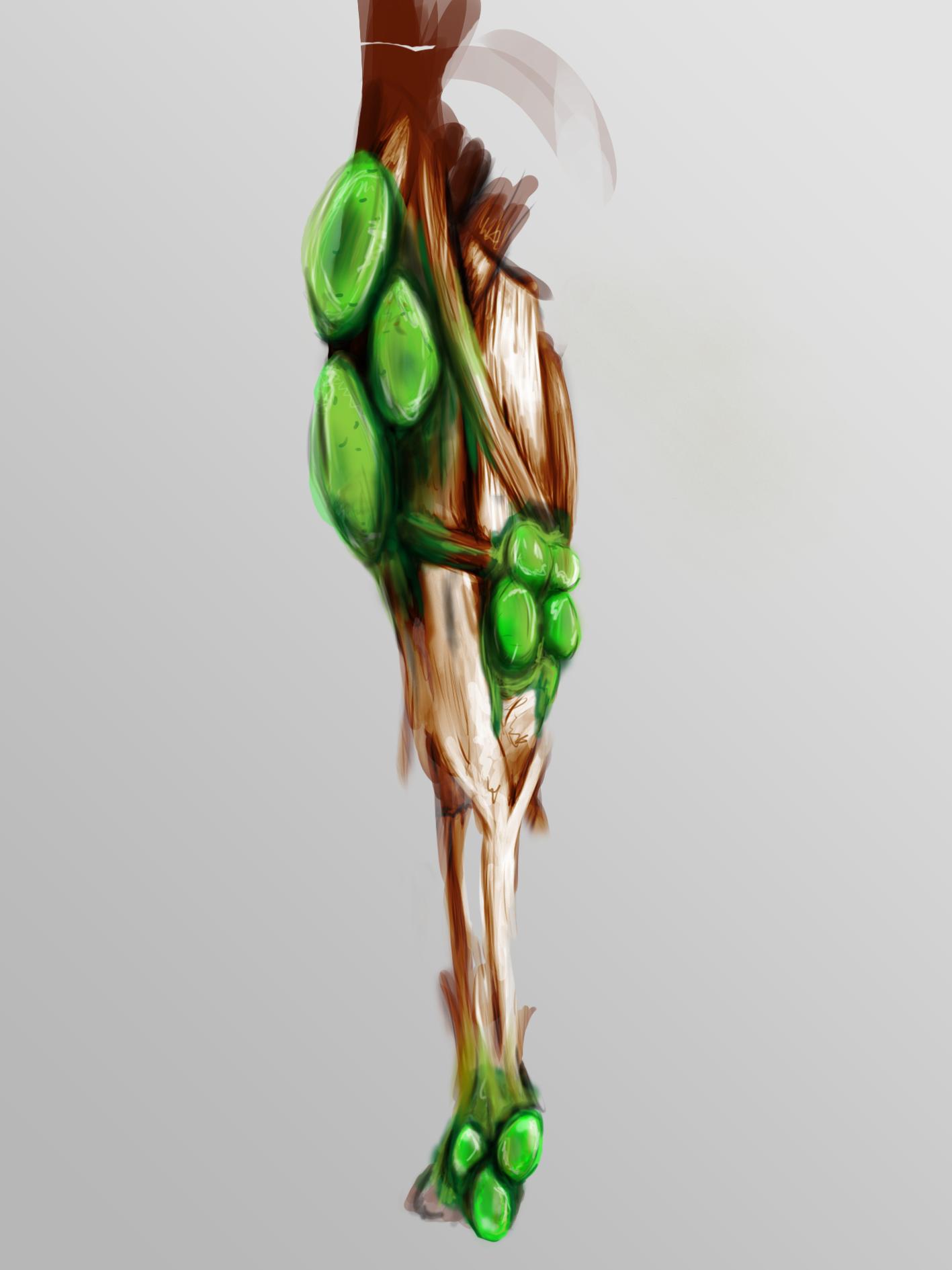 Zombie Leg 2