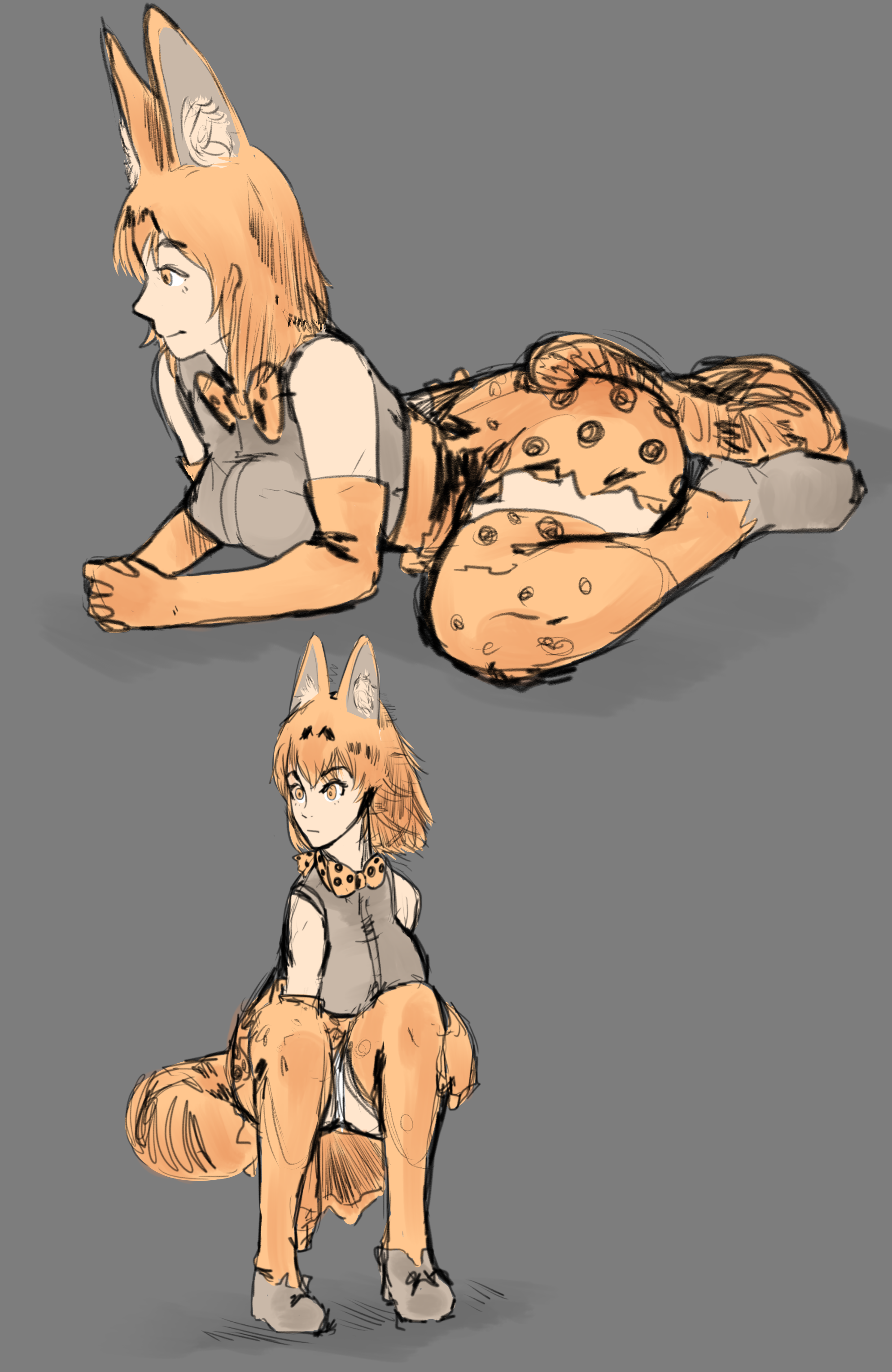 serval girl