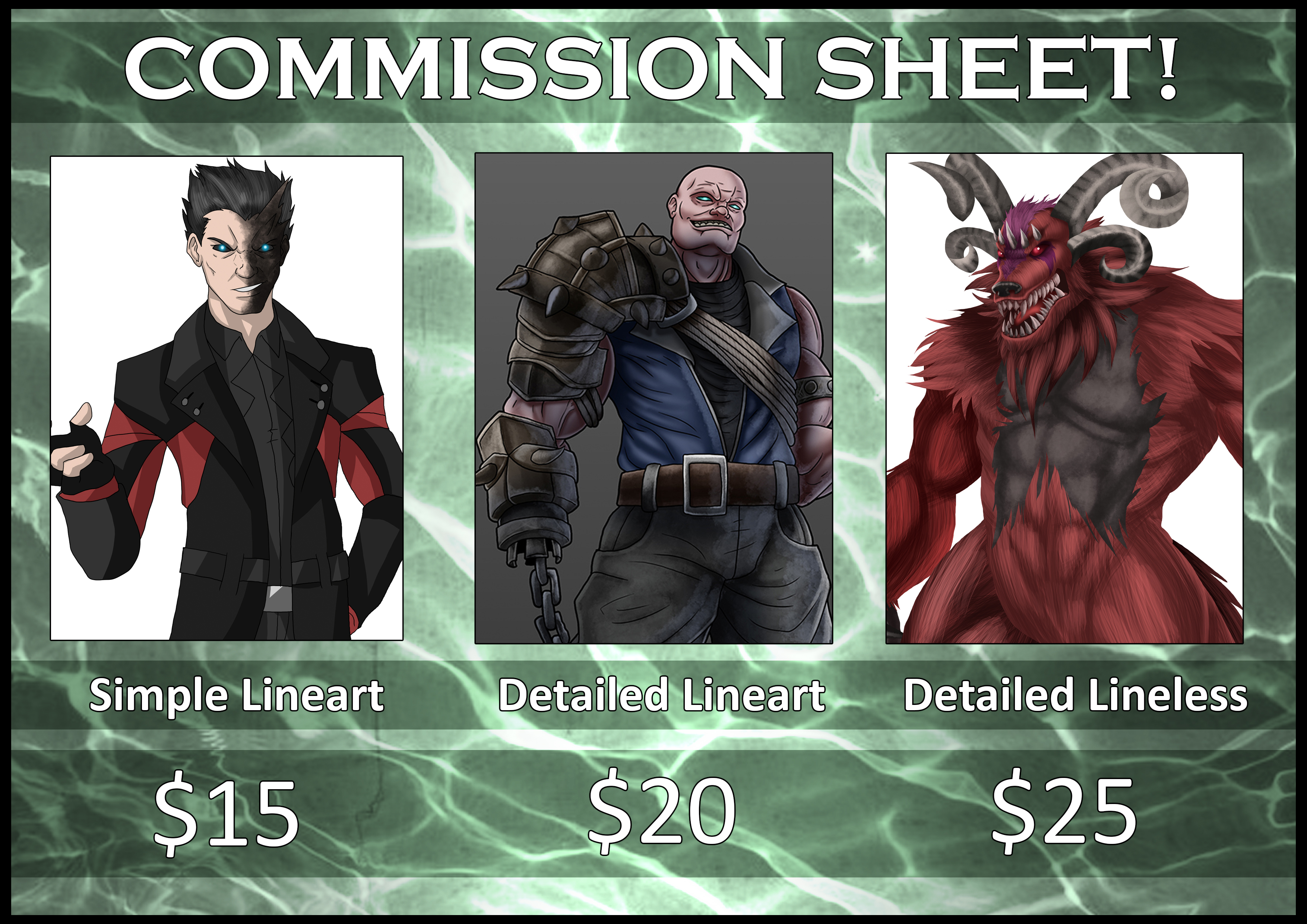 OPEN COMMISSION Information!