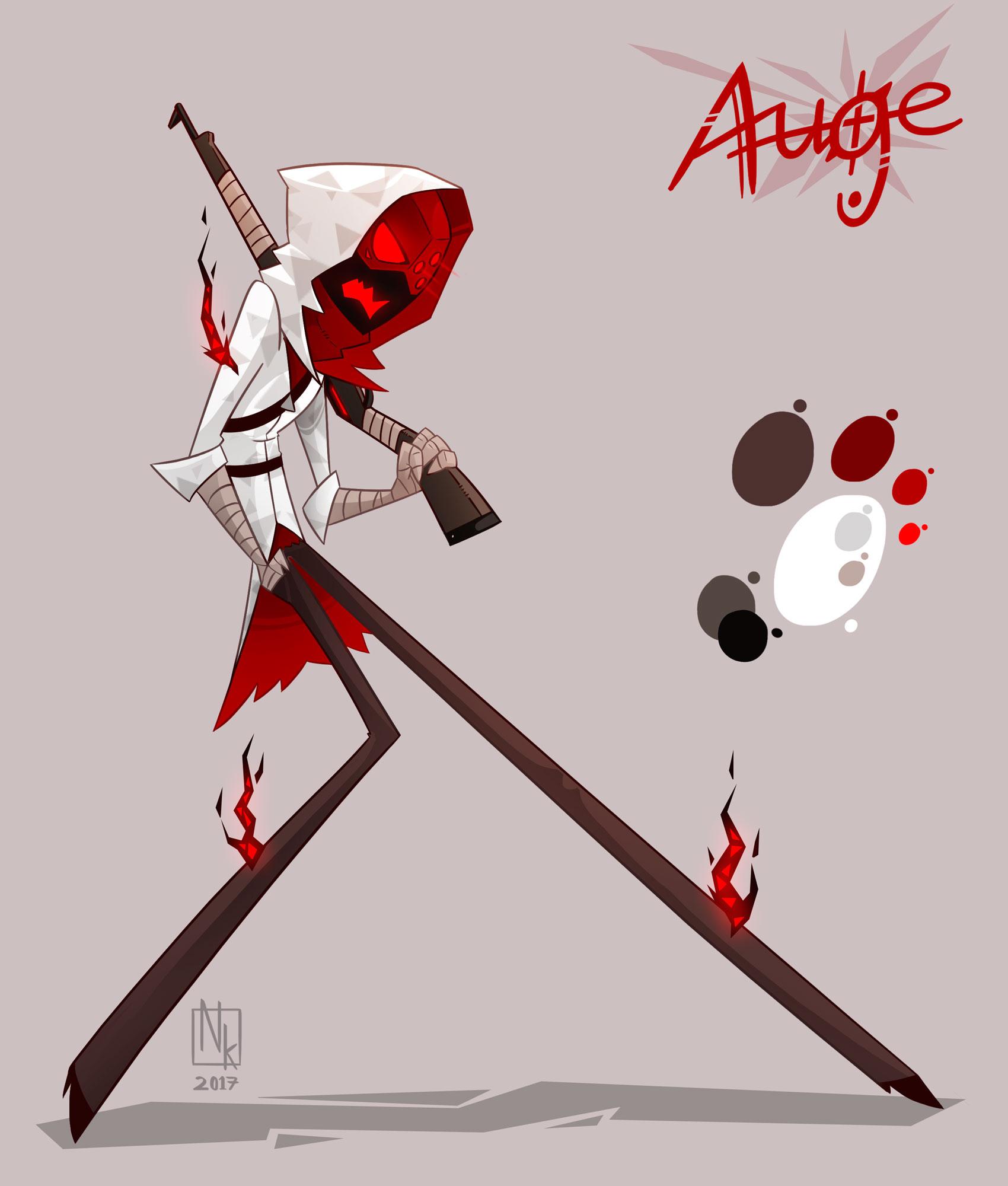 Webcomic character #3: Auge
