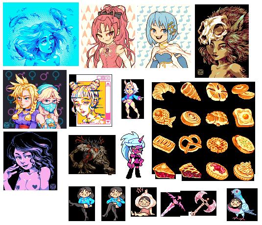 June Pixel Art Compilation