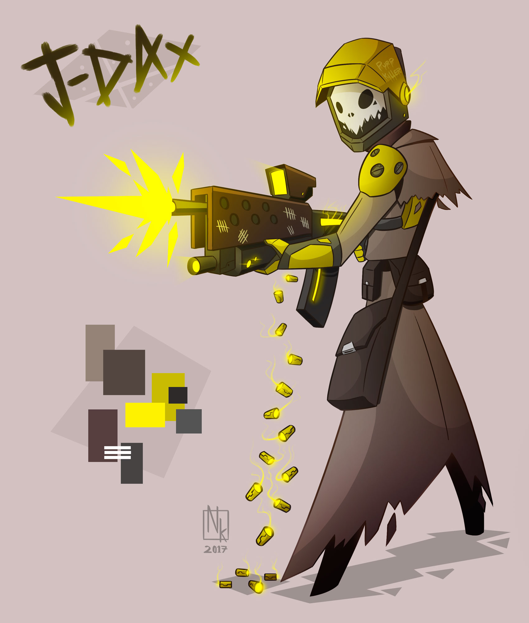 Webcomic character #5: J-Dax