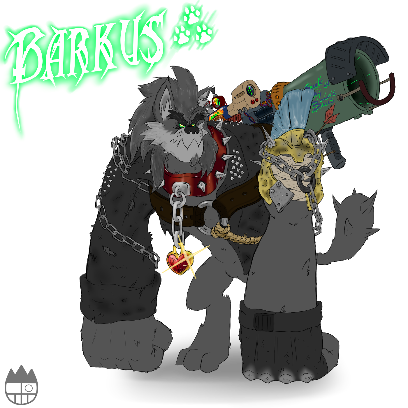 Barkus the Diamond Dog