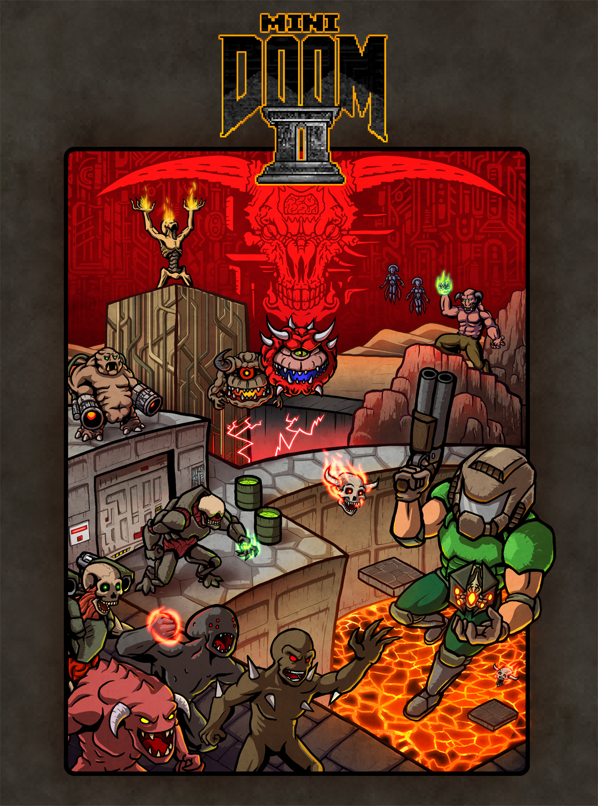 Mini Doom 2 Cover Art