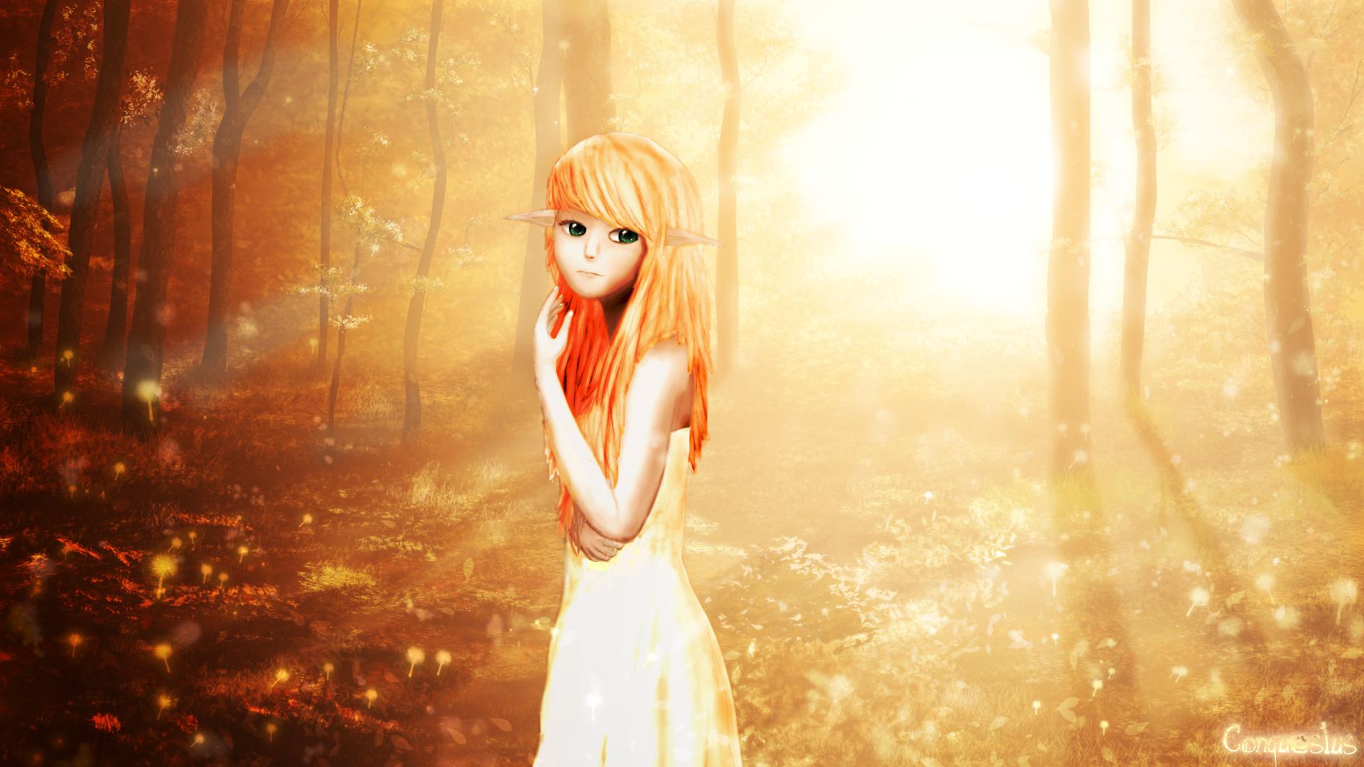 Erená in the Golden Forest