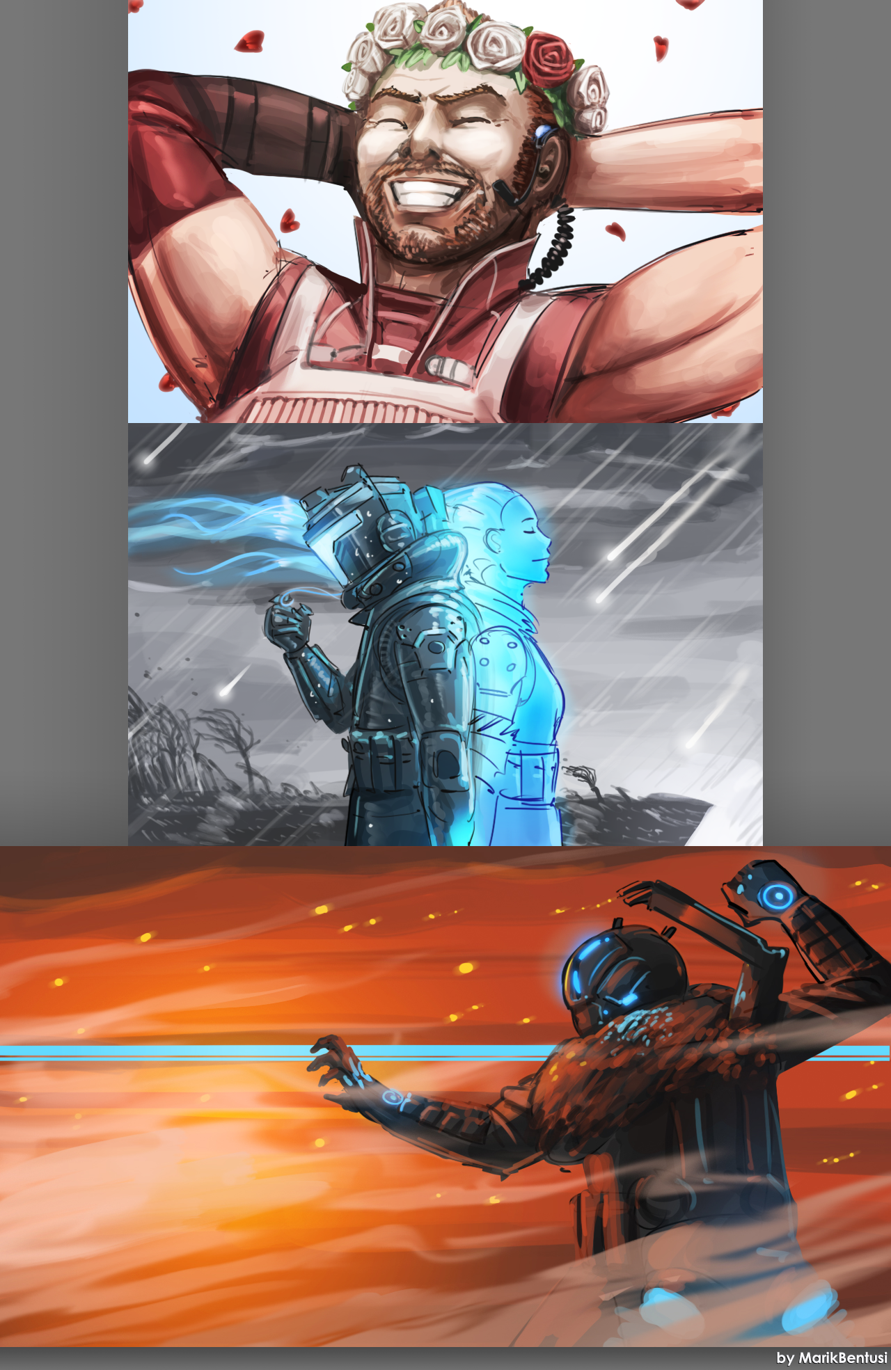 Titanfall 2 Sketchdump