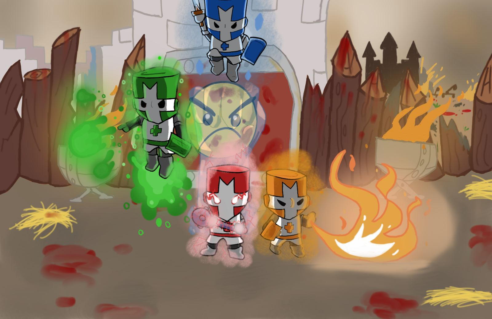 Castle Crashers magic mayhem