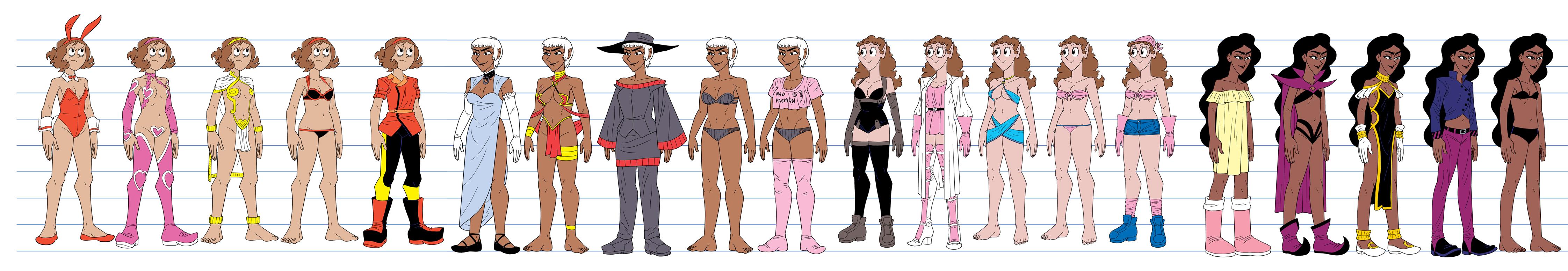 Gals Lineup