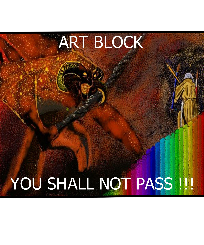 Artblock- You shall not pass!