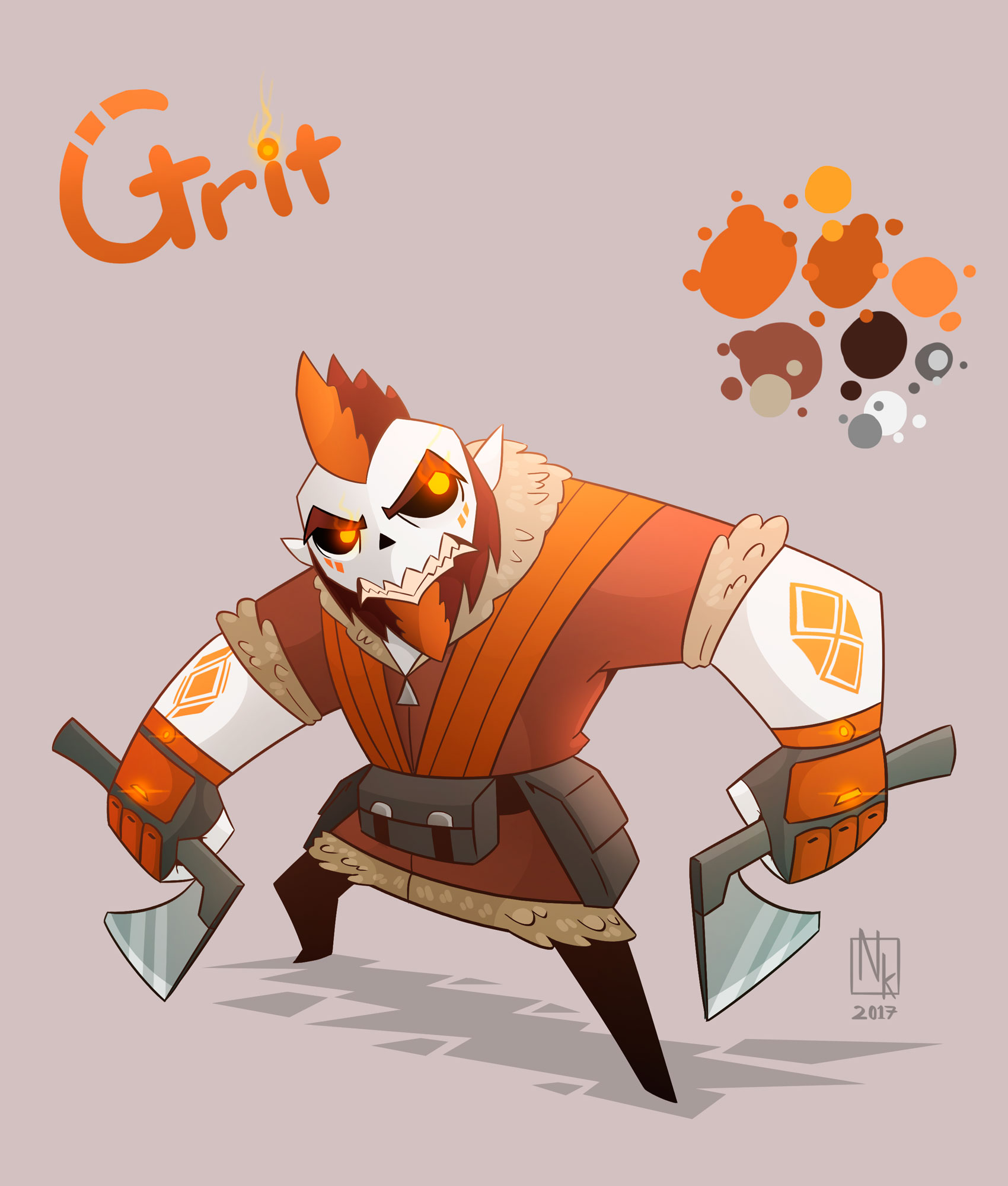 Webcomic character #7: Grit