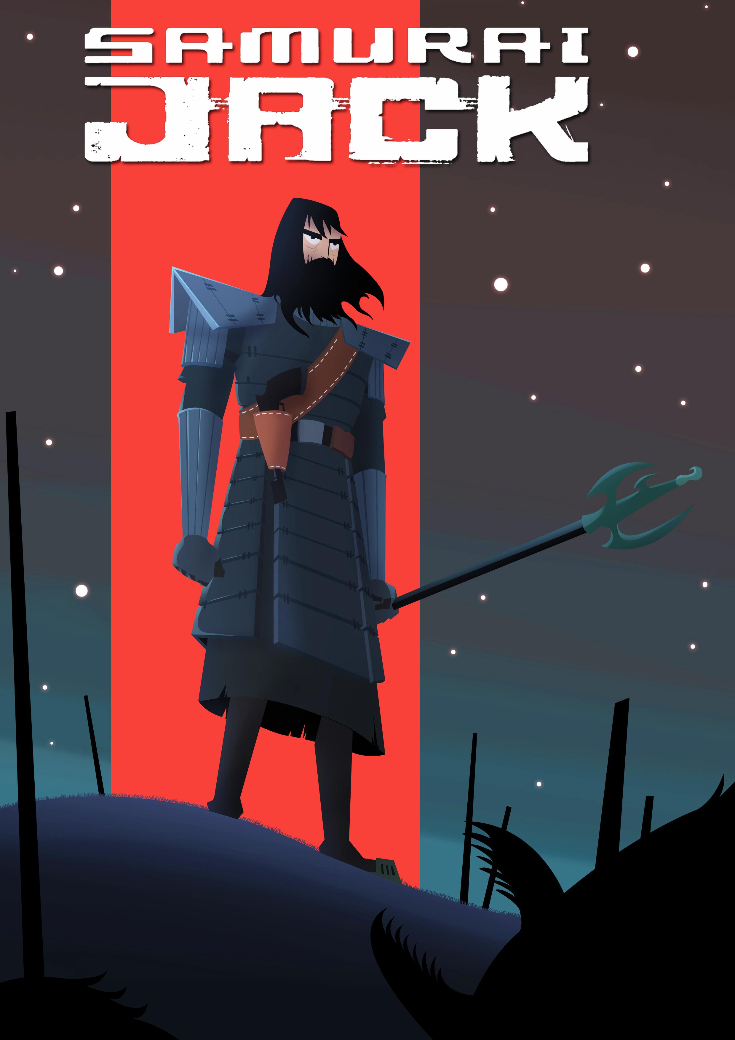 Samurai Jack Fanart.