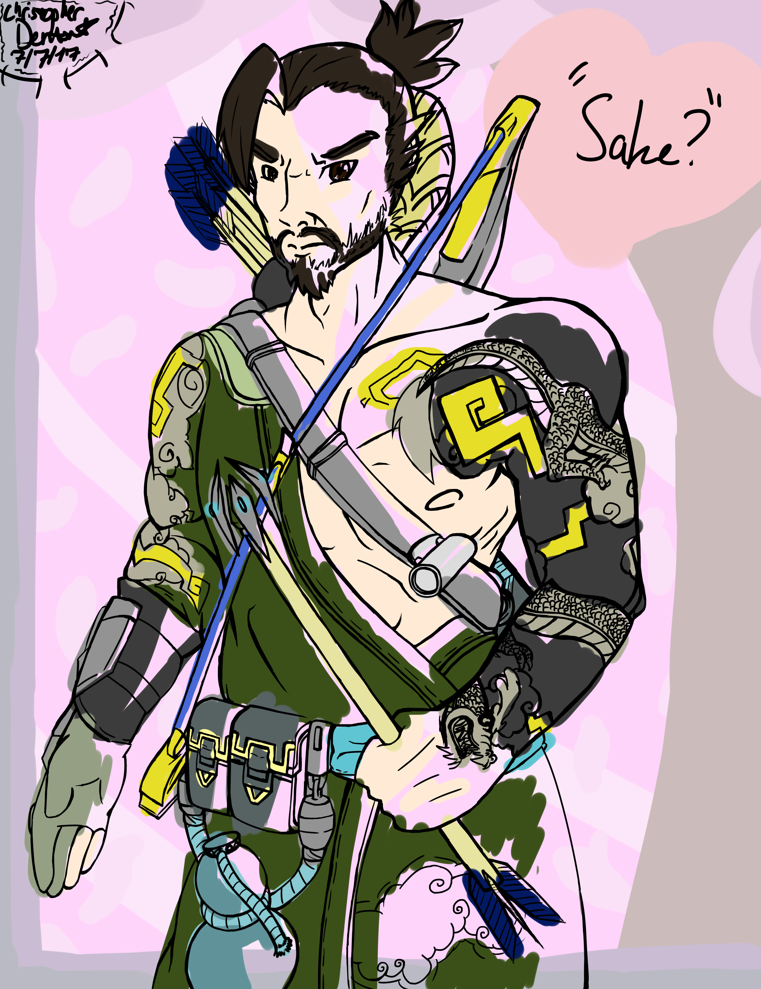 Hanzo At Your Service