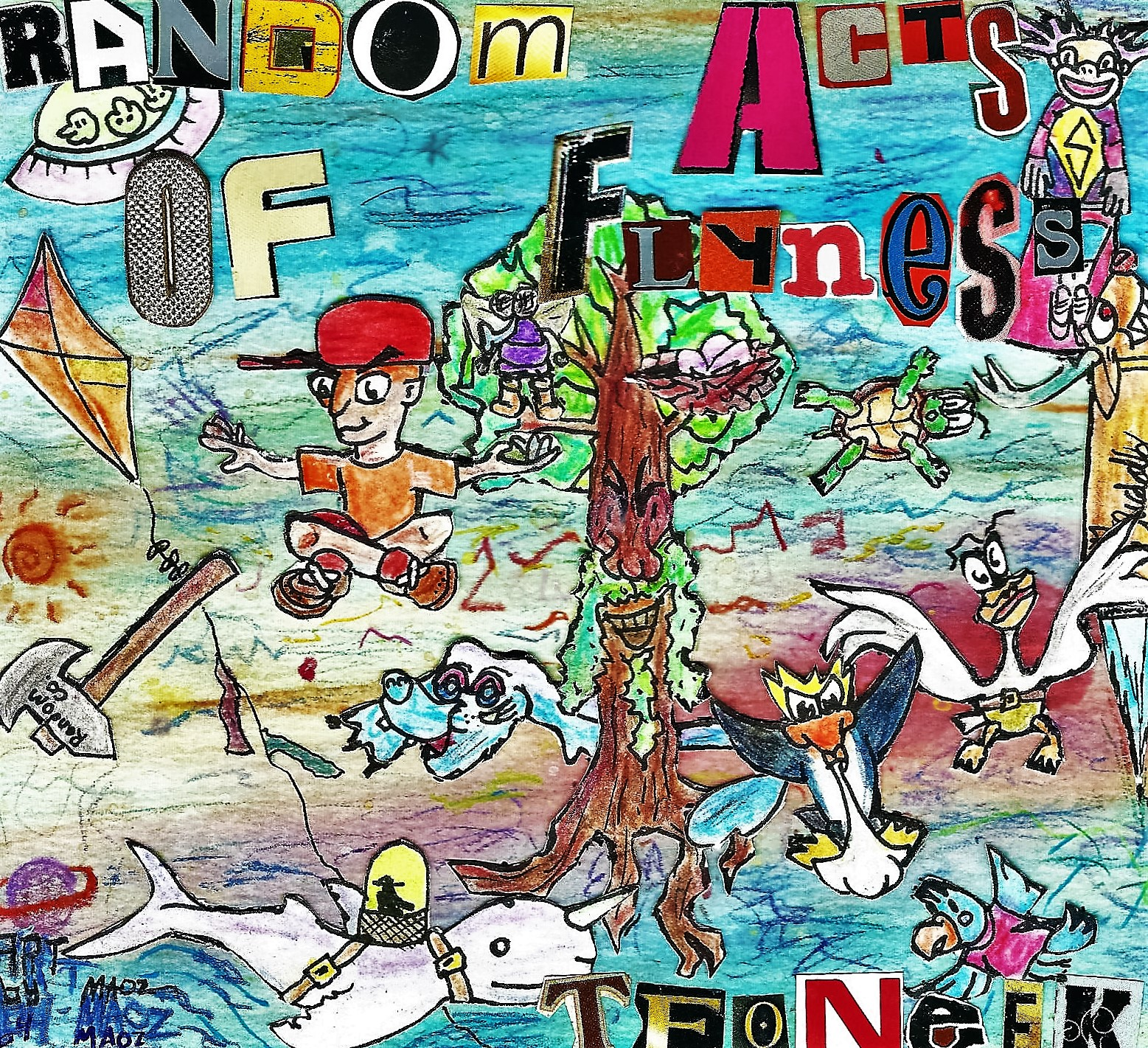 """""""Random Acts of Flyness"""" Album Cover"""