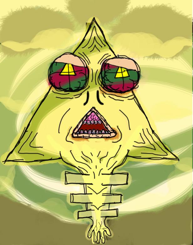 Señor triangulo