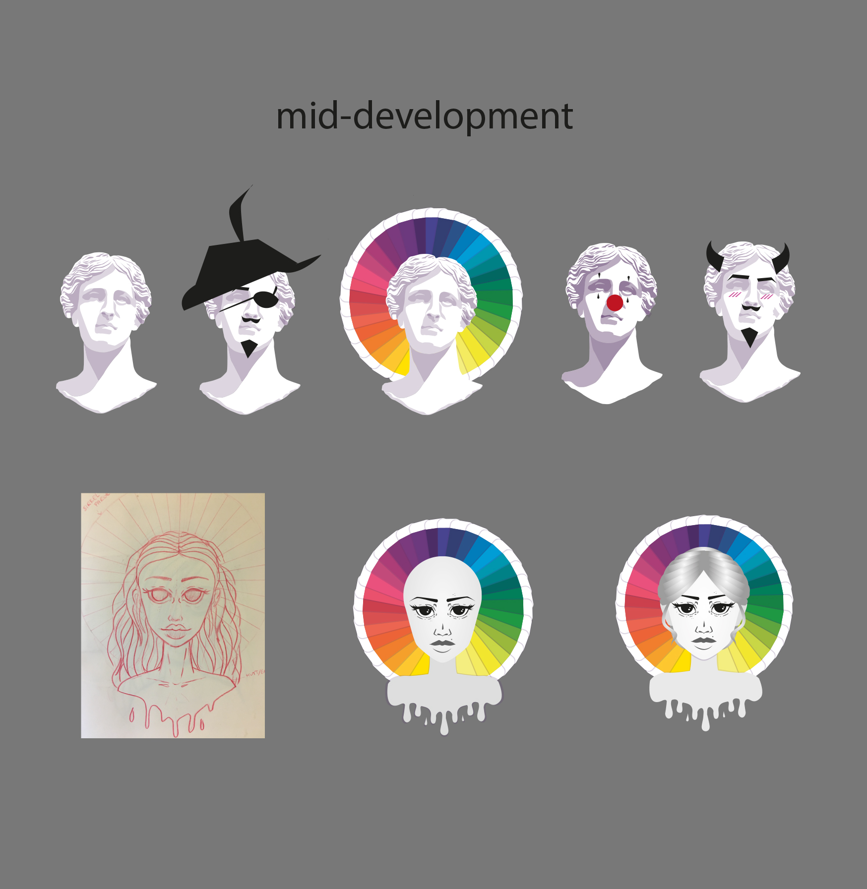 Mid-development - Artyshirt
