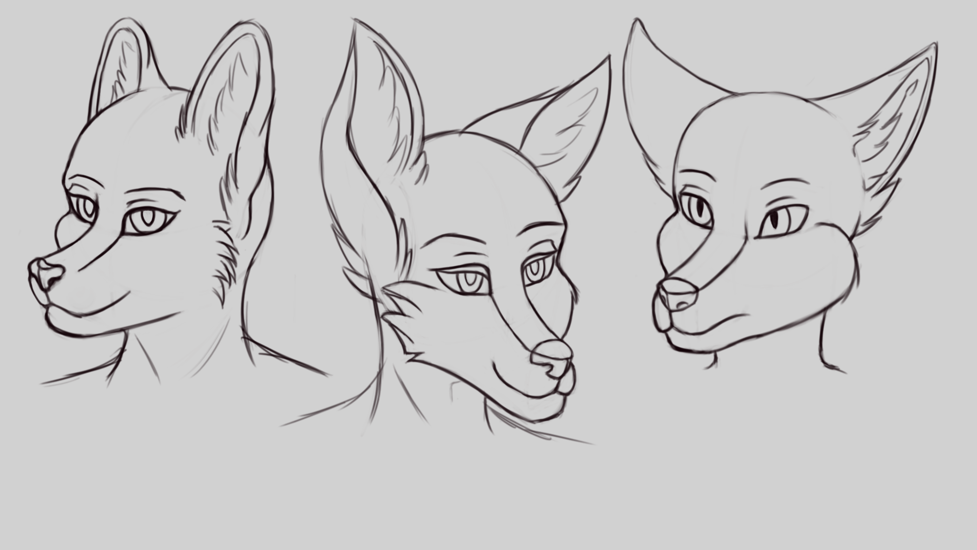 Heads Practice By Maissae On Newgrounds