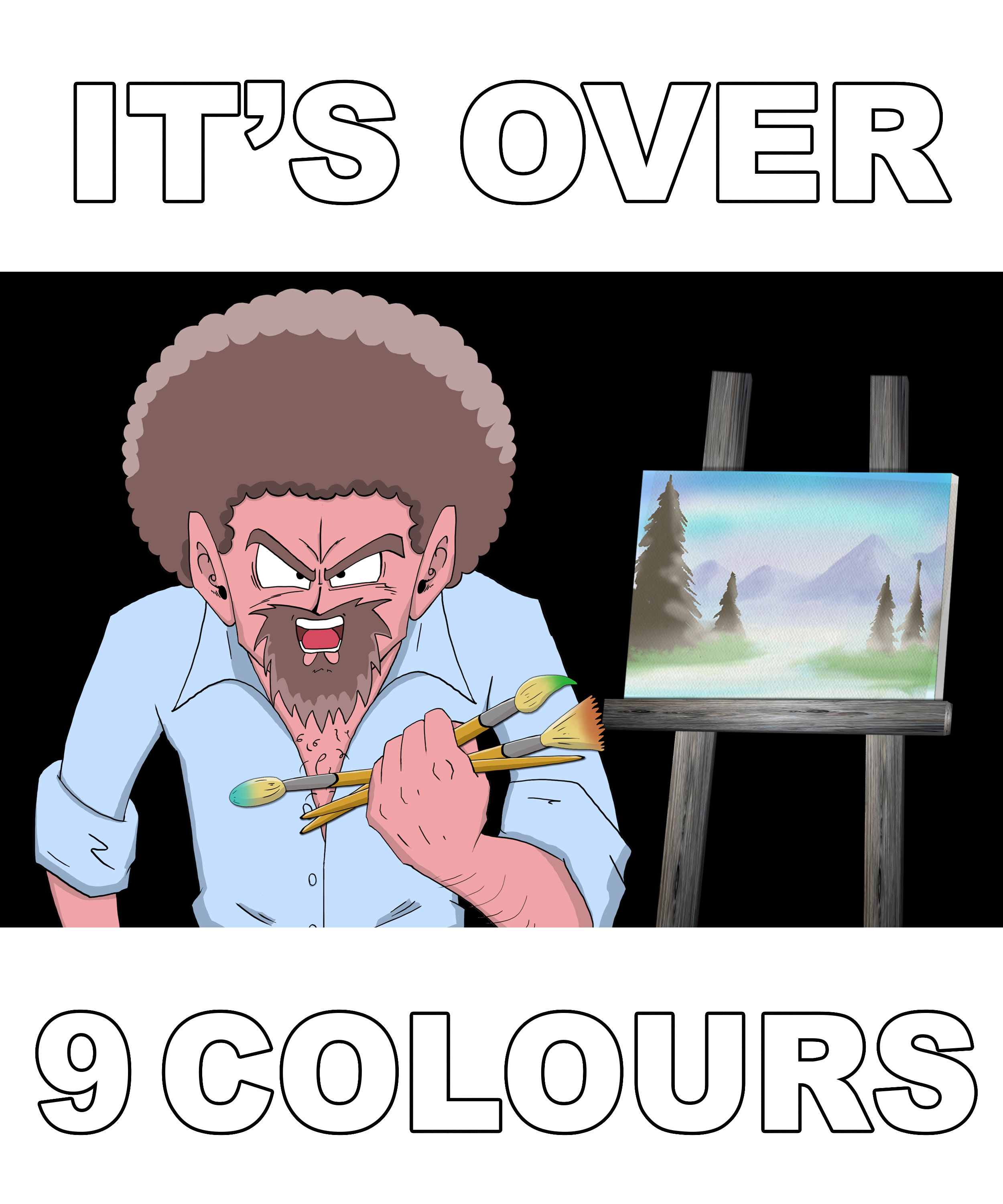 It's Over 9 Colours!!