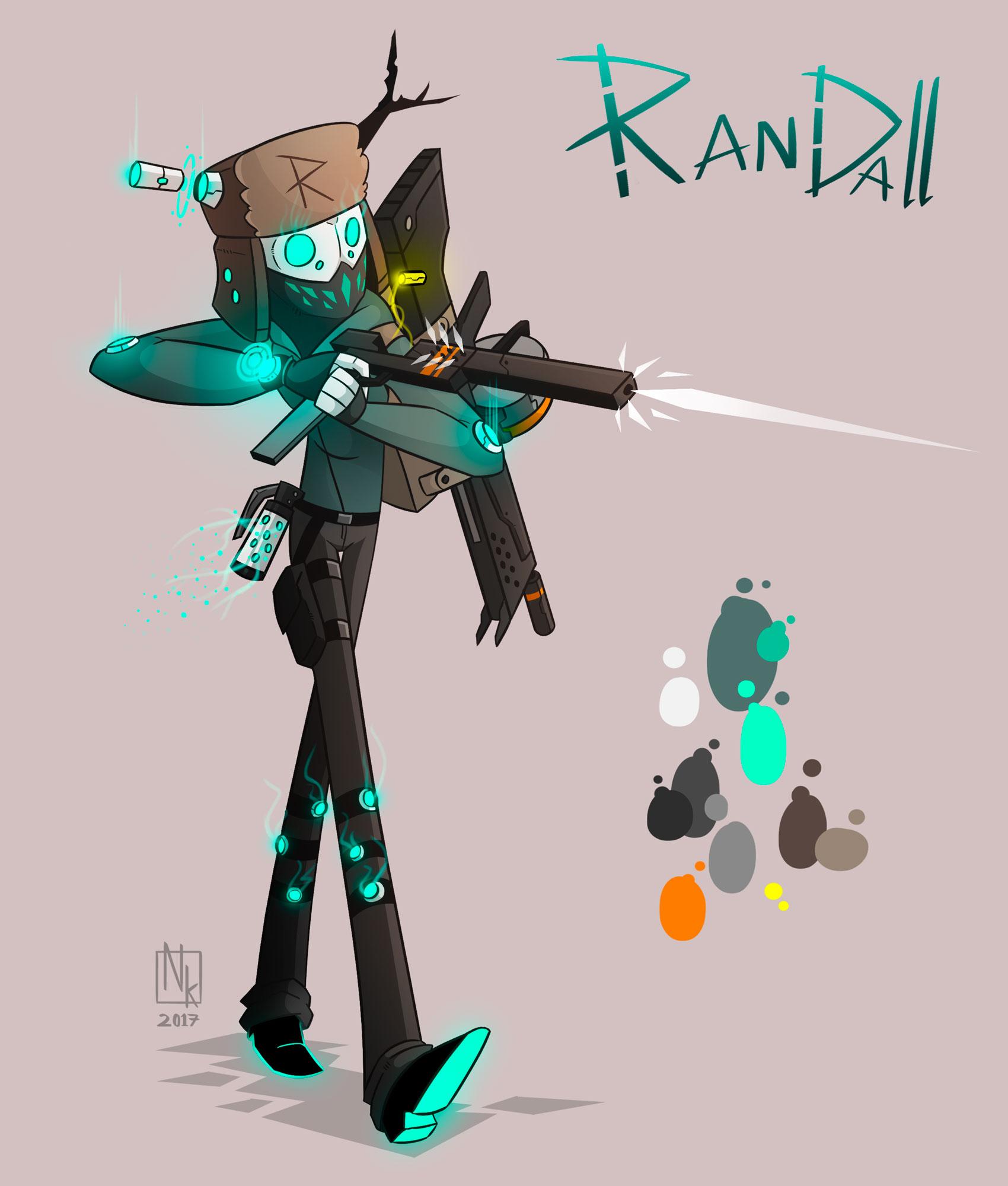 Webcomic character #8: Randall