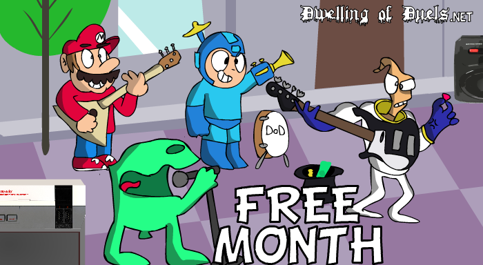 DoD Free Month Banner