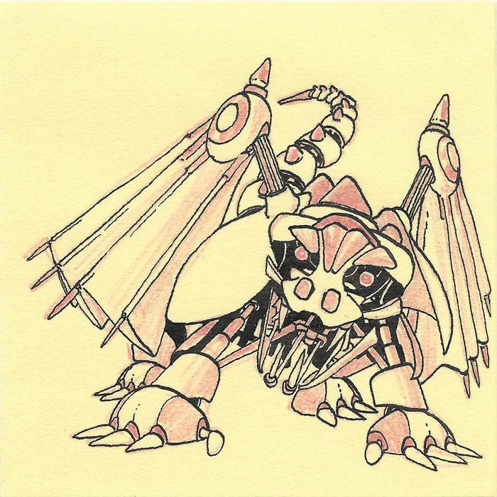 Robotical Dragon