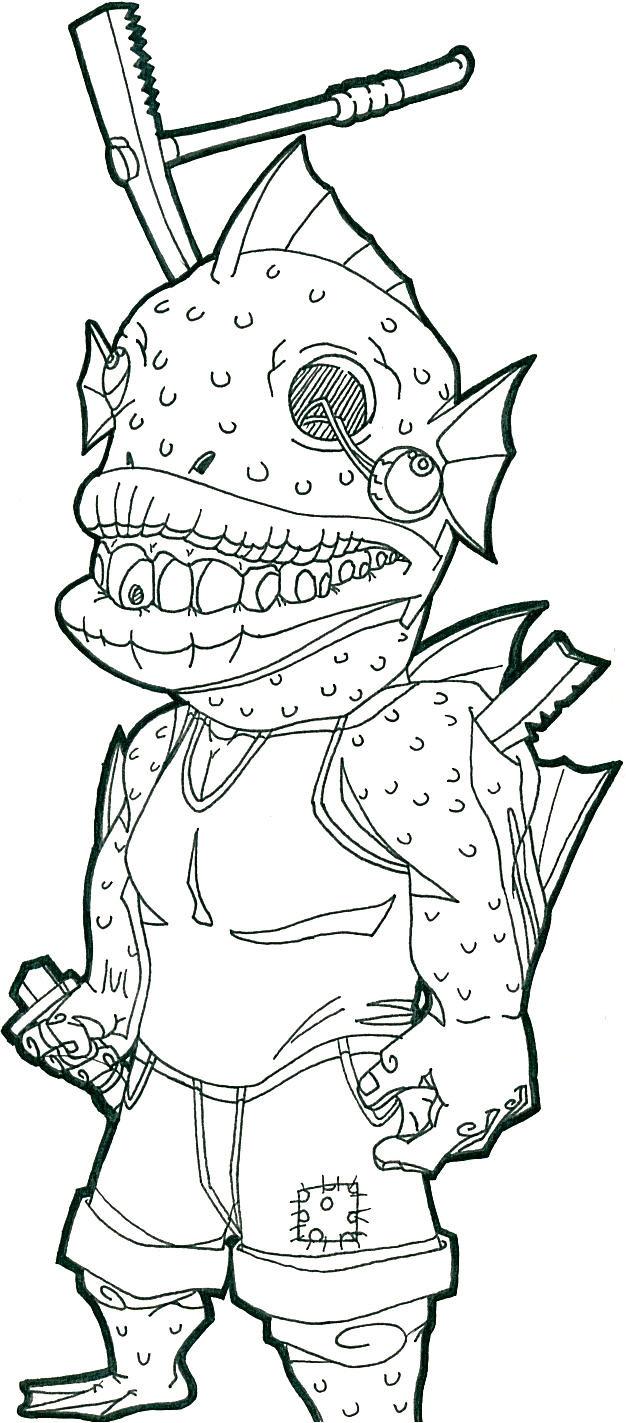 Fishman-Violent Encounters