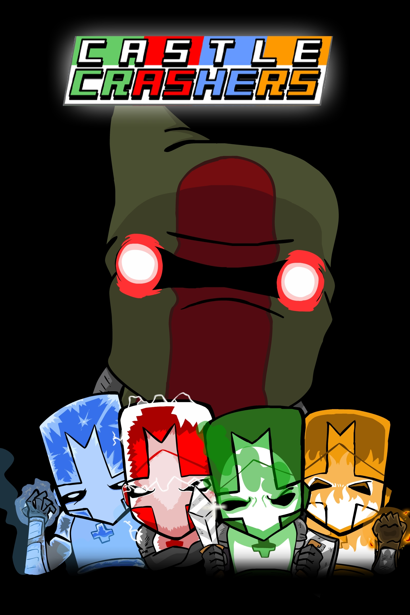 Castle Crashers Poster