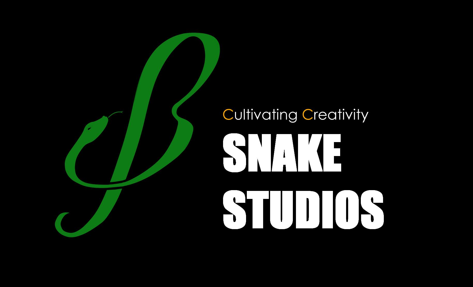 Snake-Studios' new fine-art logo
