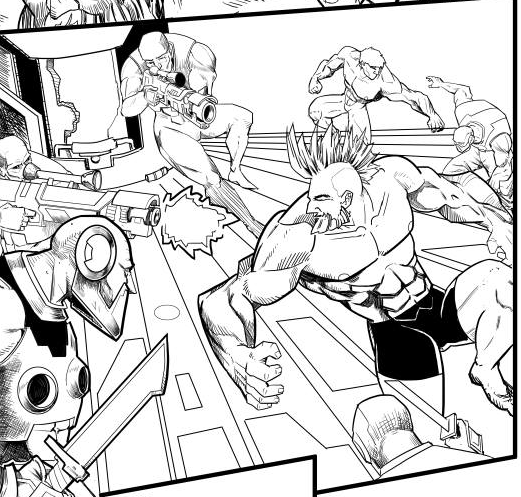 Comic Page.