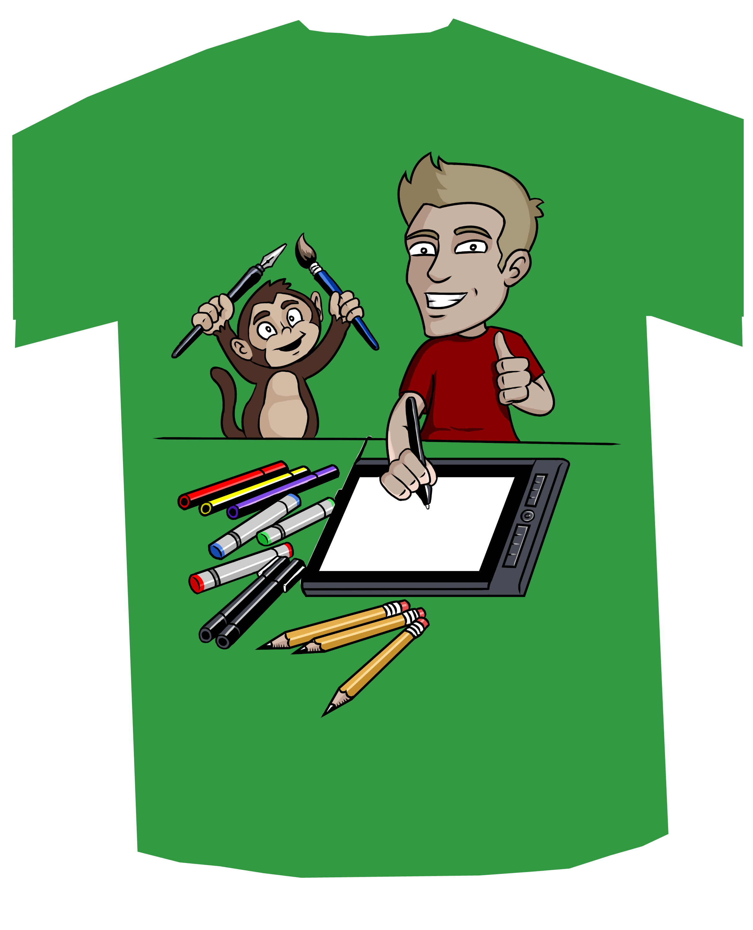 Let's Draw t-shirt