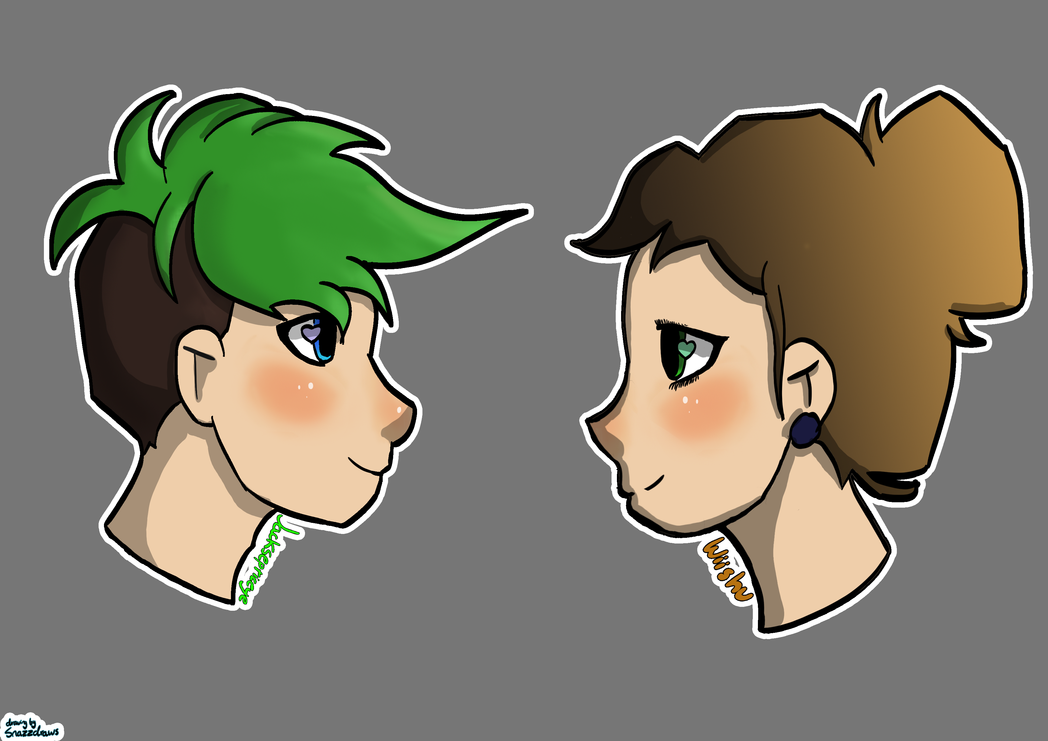 Wiishu and Jacksepticye