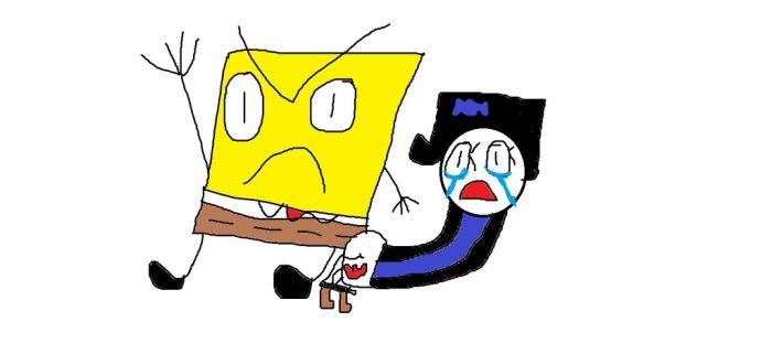 Spongebob Spanks Stocking