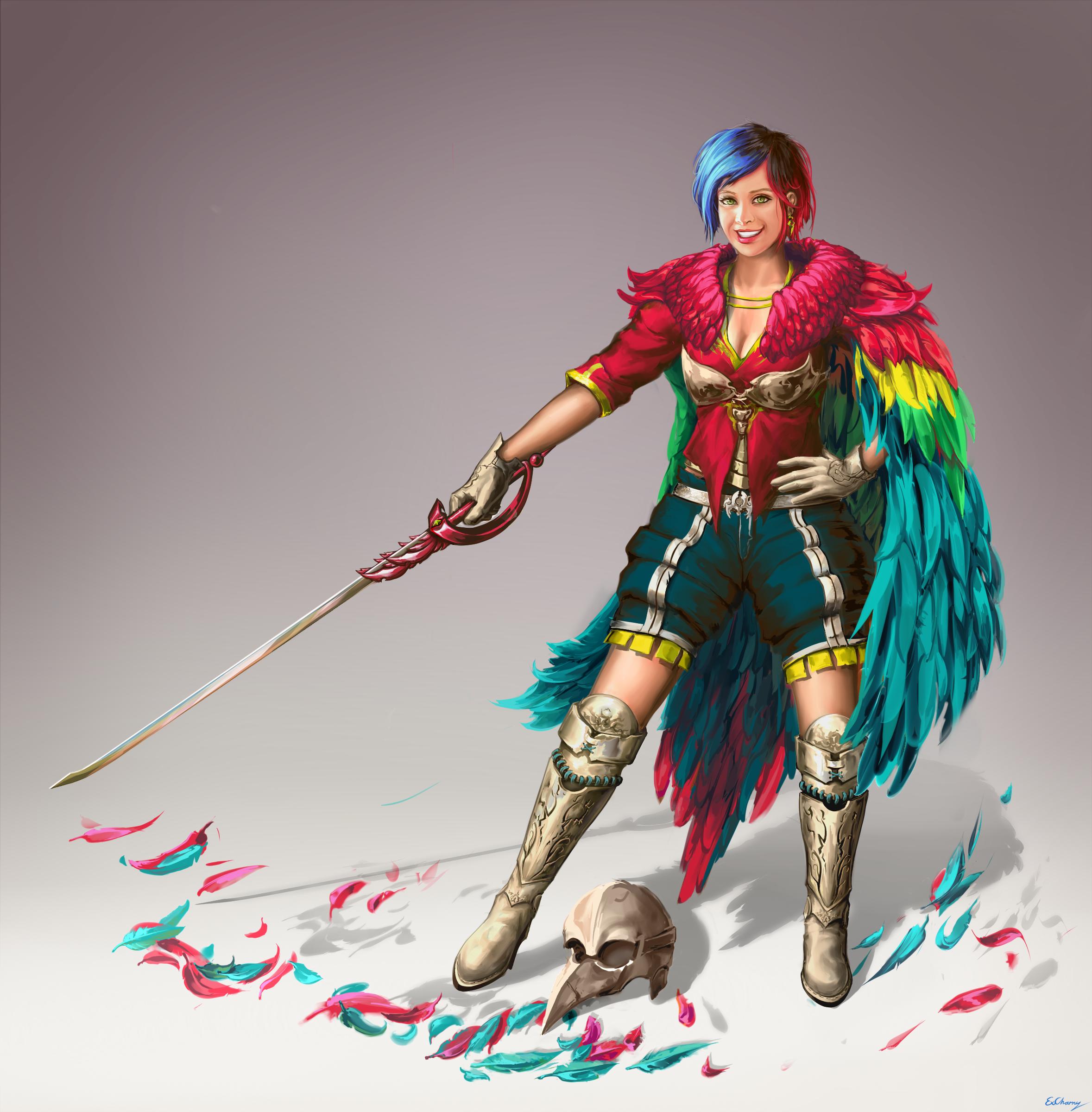 Parrot Knight