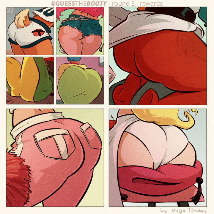 Guess the Booty Round 5 - Rewards