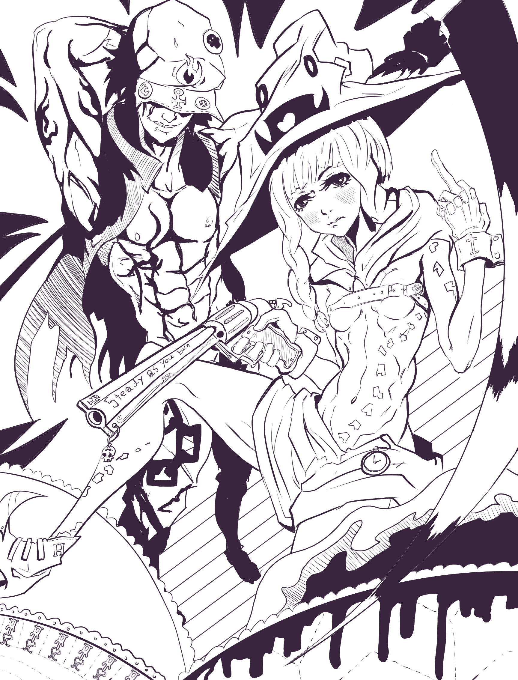 Done with it LineArt