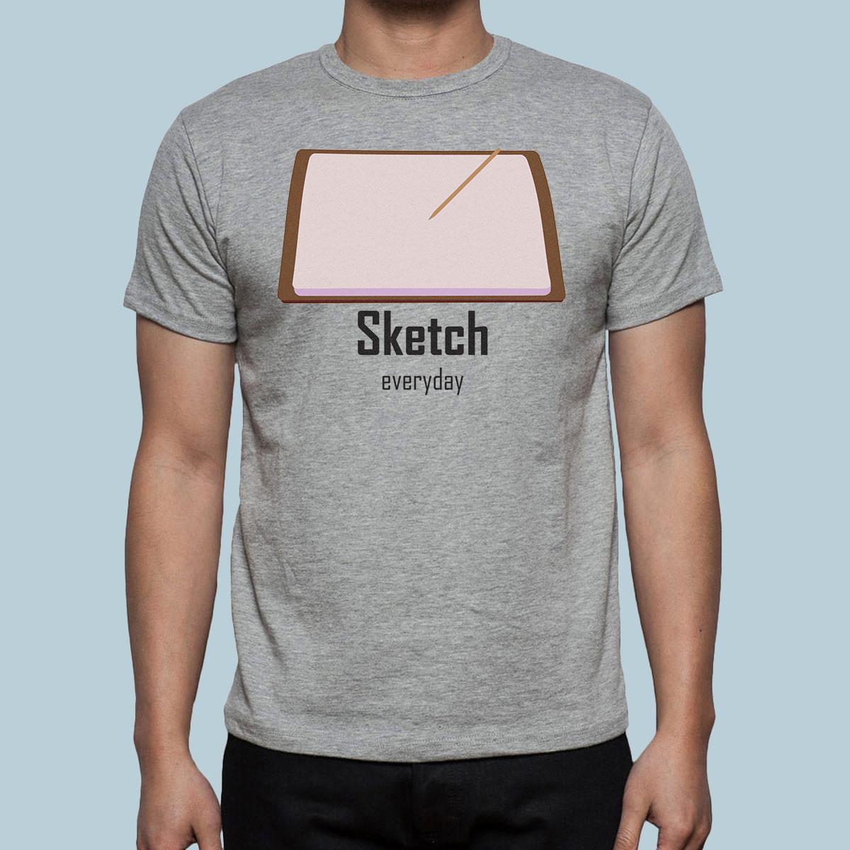 Sketch EveryDay T-Shirt Design for July COTM