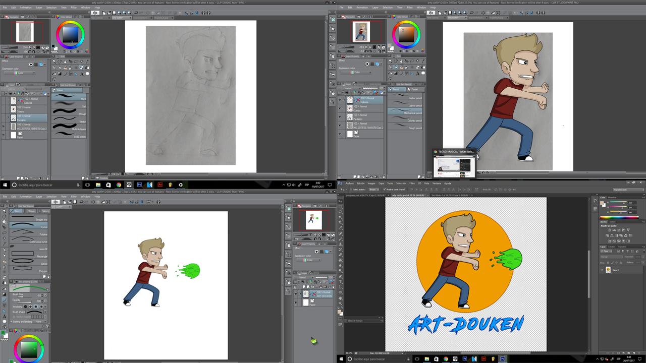 ART-Douken! progress