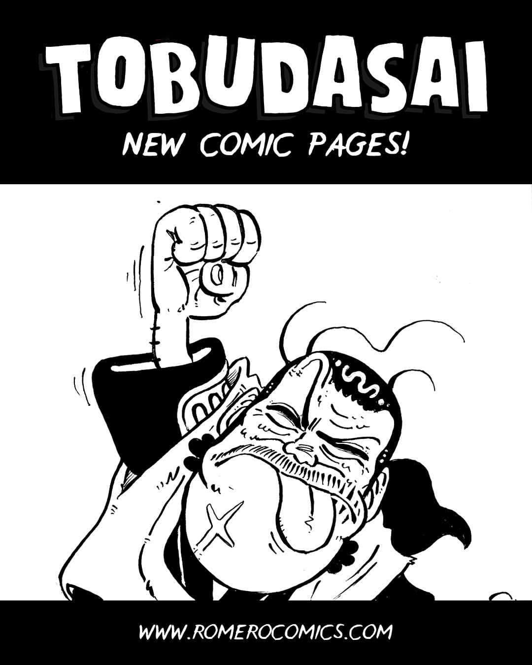 TOBUDASAI | COMIC UPDATE!