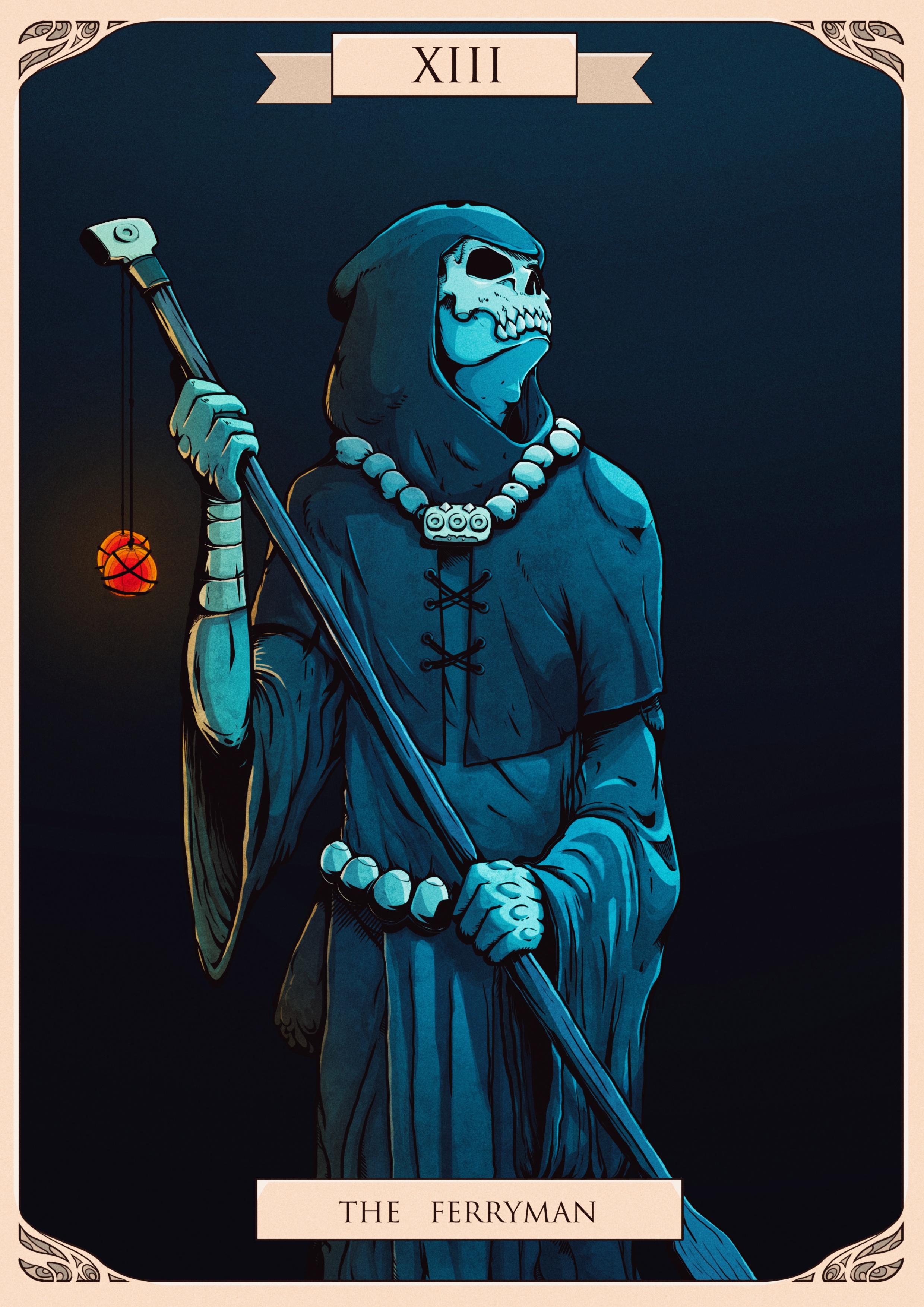 Death-Tarot Card (CDChallenge july 2017)
