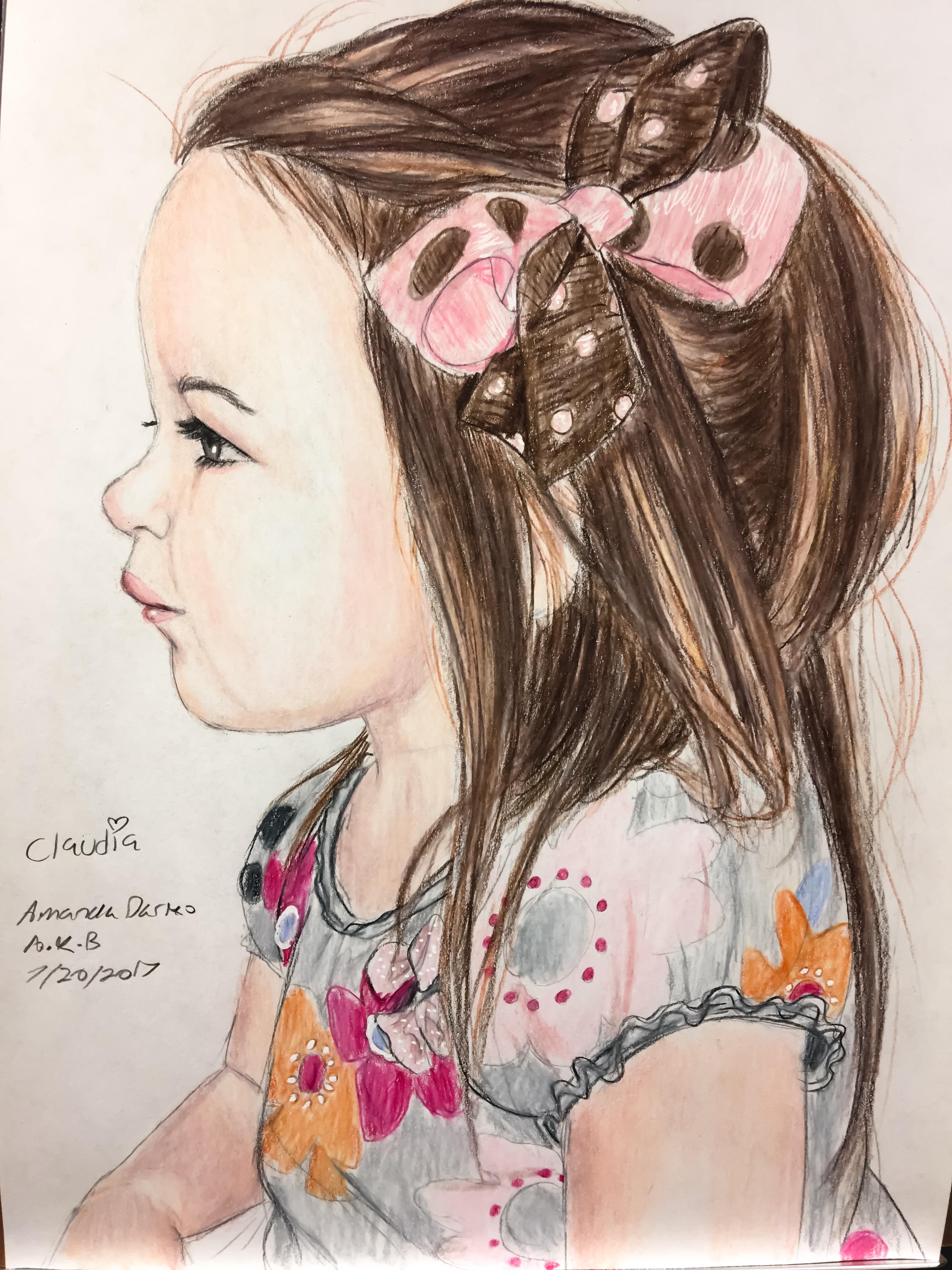 My daughter Claudia