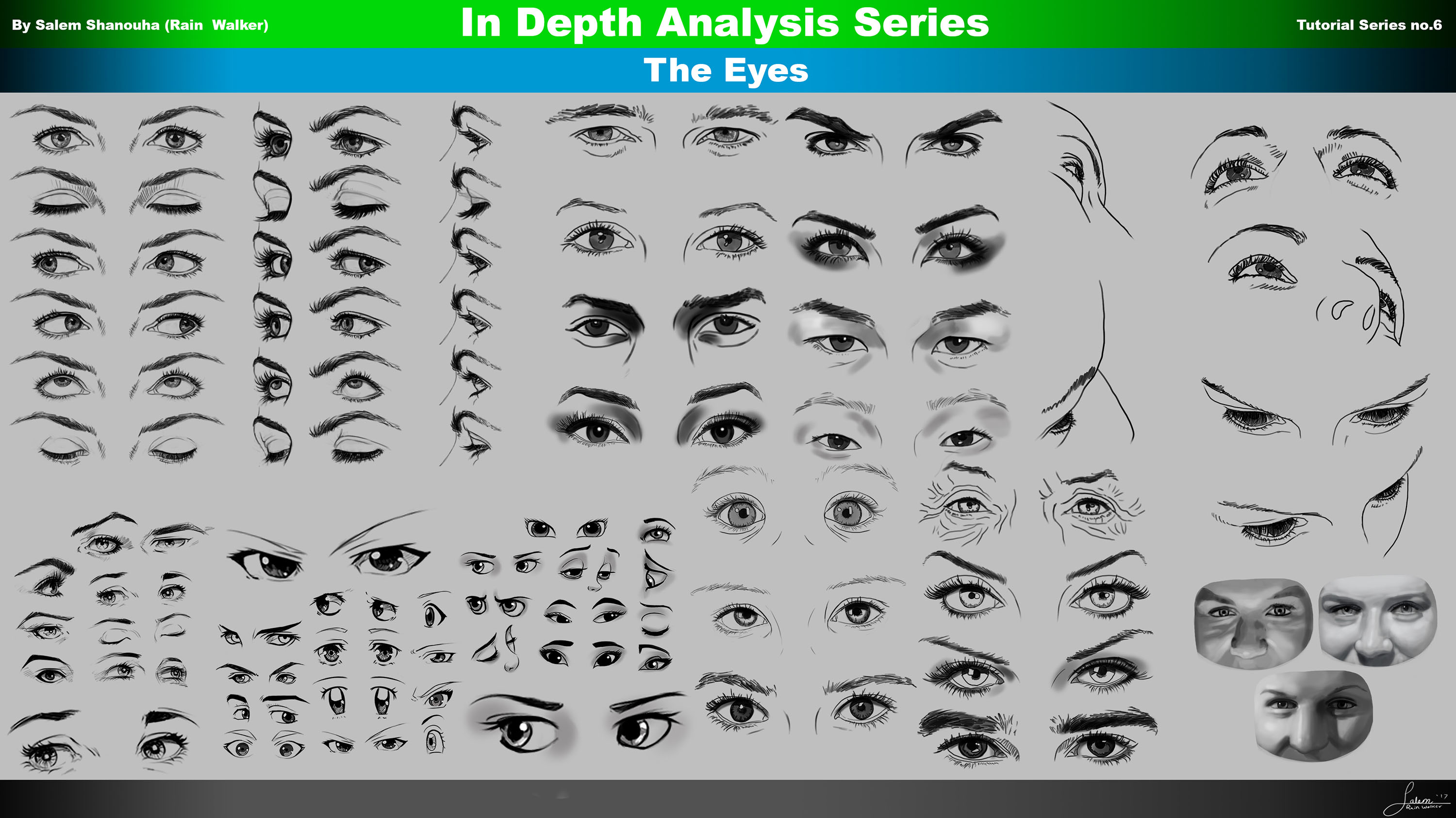 Everything You Need to Know to Draw the Eyes
