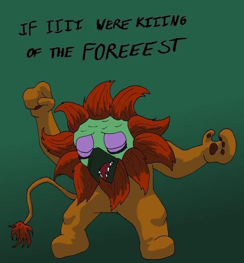 Ludo Lion Man