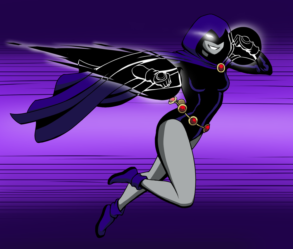 Teen Titans Raven Time Travel