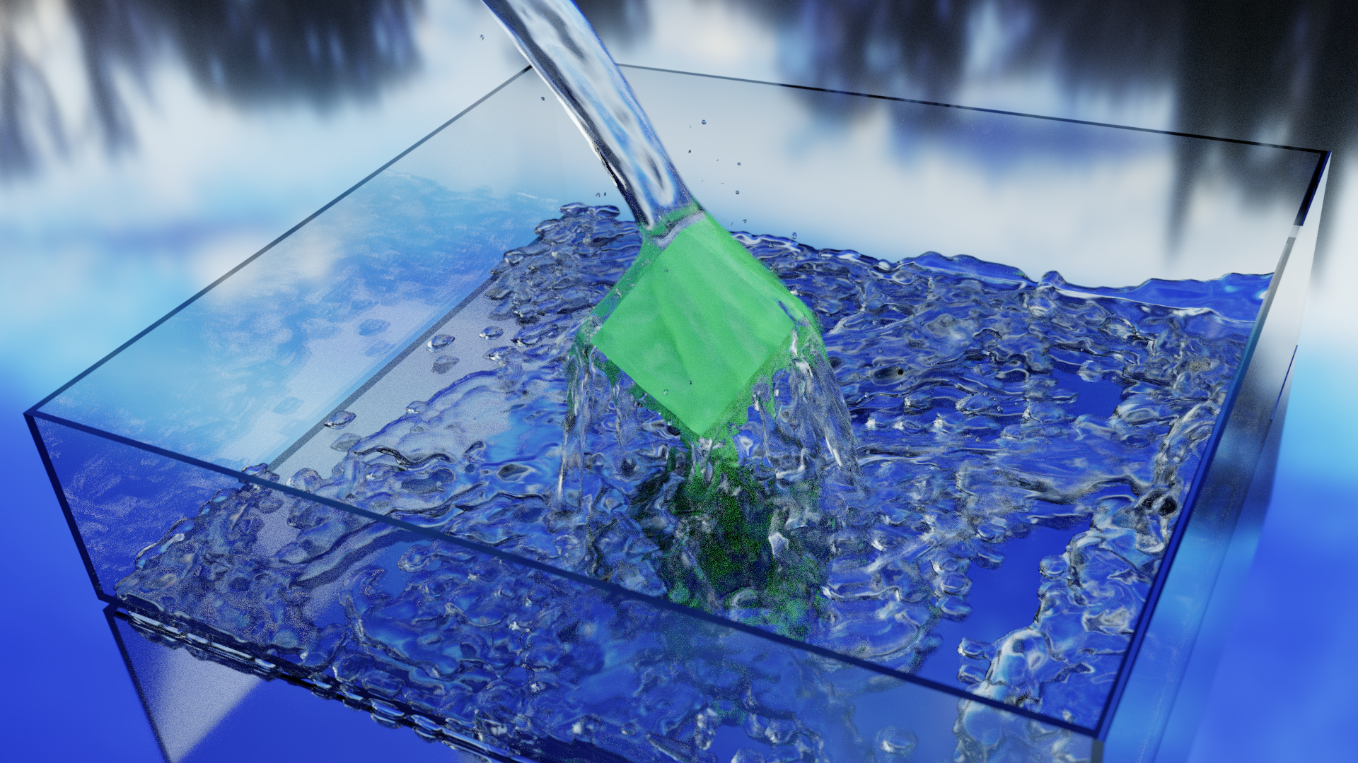 Water Simulation(Preview)