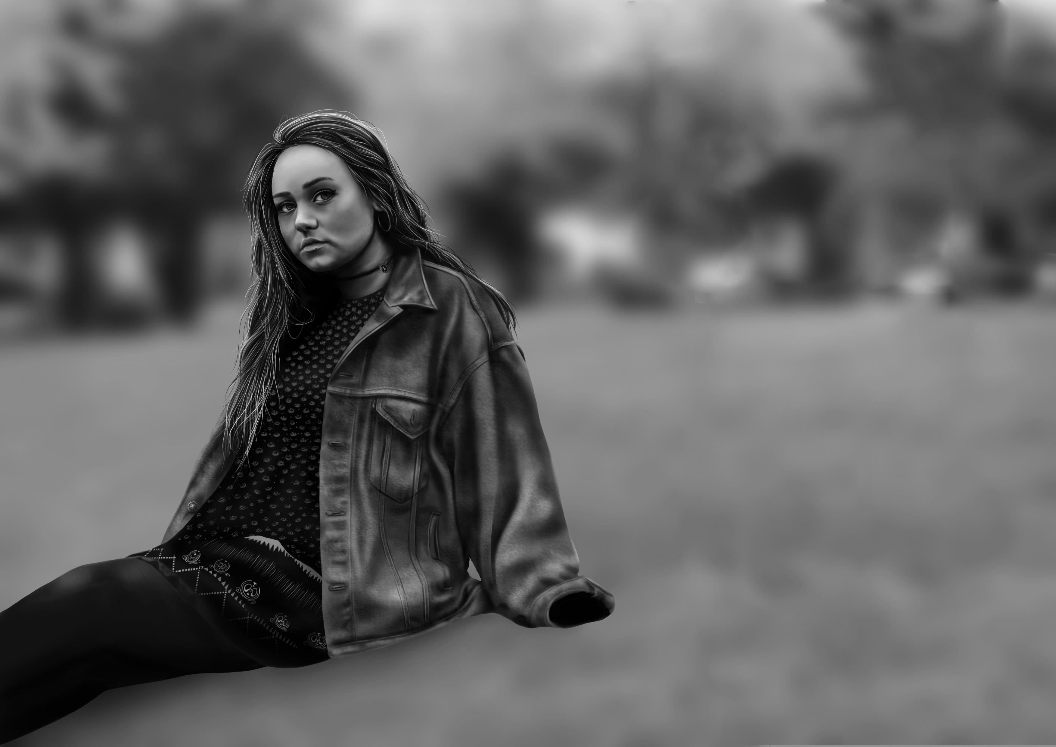 Sophie Realism Portrait